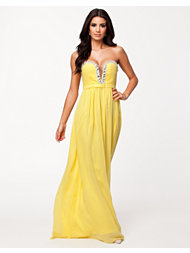 NLY Eve Crystal Trim Maxi Dress