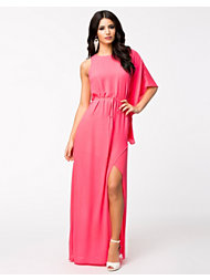 NLY Eve Neon Pink Split Dress