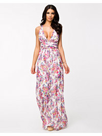 Juhlamekot, Flower Empire Maxi Dress, NLY Eve - NELLY.COM