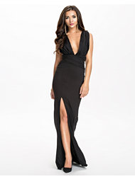 NLY Eve Dare Deep Drop Dress