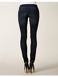 Nudie Jeans Tight Long John Organic Black Grey