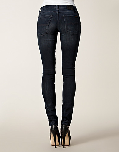 JEANS - NUDIE JEANS / TIGHT LONG JOHN ORGANIC BLACK GREY - NELLY.COM