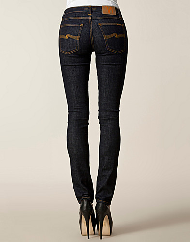 JEANS - NUDIE JEANS / TUBE KELLY ORGANIC TWILL RINSED - NELLY.COM