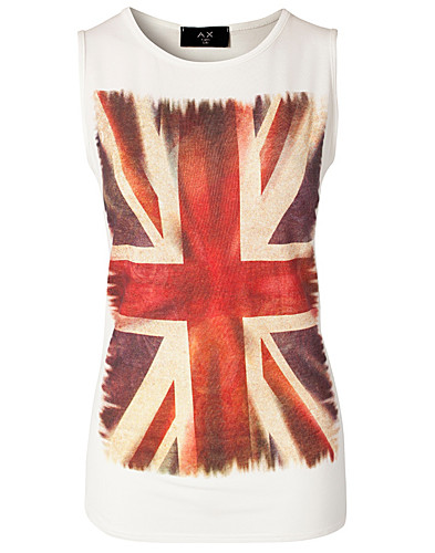 TOPS - AX PARIS / VINTAGE UNION JACK TOP - NELLY.COM