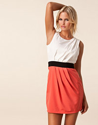 Ax Paris - Pleat Color Block Dress
