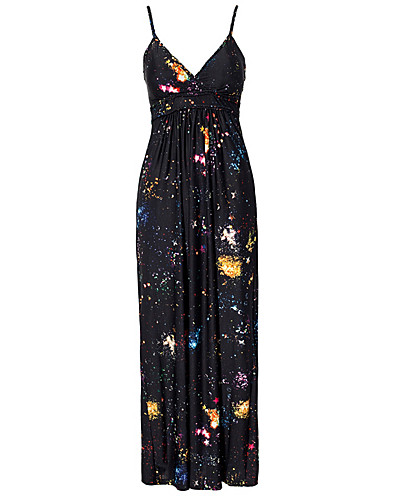 PARTY DRESSES - AX PARIS / GALAXY STRAP MAXI DRESS - NELLY.COM