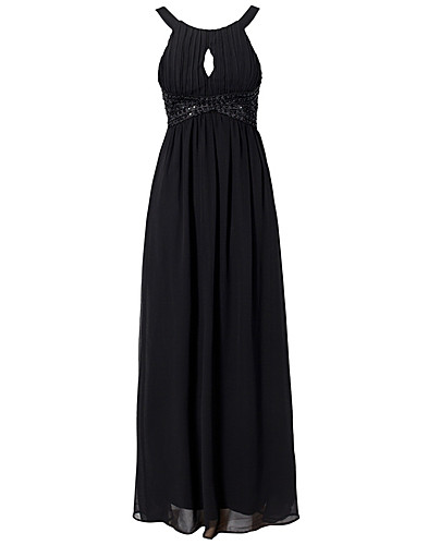 FESTKLÄNNINGAR - AX PARIS / KEY HOLE FRONT MAXI DRESS - NELLY.COM