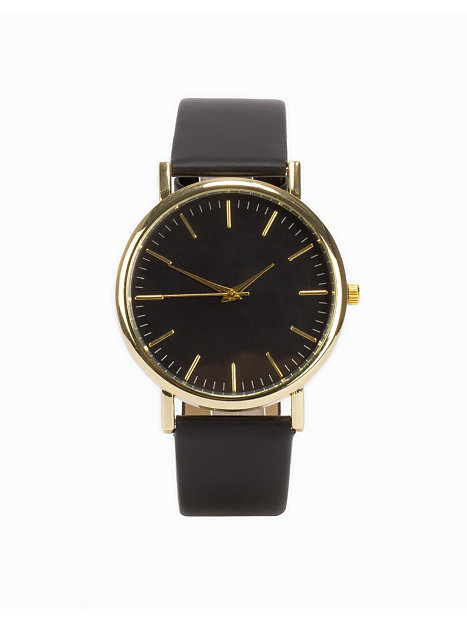 Plain Watch - Nly Accessories - Black