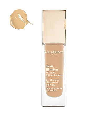 MAKE UP - CLARINS / SKIN ILLUSION FOUNDATION SPF10 - NELLY.COM