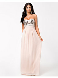 Te Amo Bustier Maxi Dress