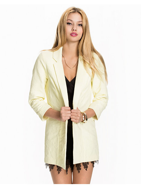 Lemon Jacquard Duster