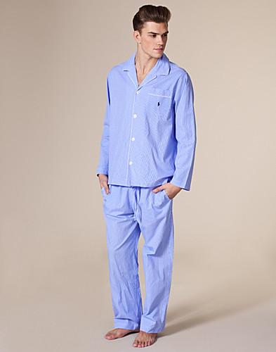 NACHTKLEDING - RALPH LAUREN / PYJAMA SET LONG - NELLY.COM