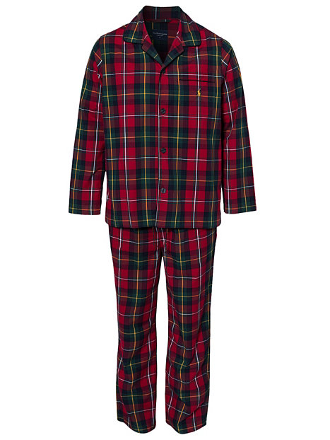 gb pyjama set polo ralph lauren red sleepwear underwear men. Black Bedroom Furniture Sets. Home Design Ideas