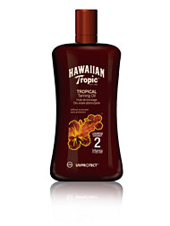 Hawaiian Tropic Tanning Oil Intense