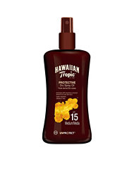 Hawaiian Tropic Protective Dry Spray Oil Spf15