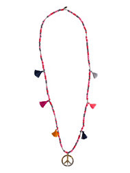 Bijoux By Us Peace & Tassles Necklace