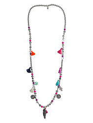 Bijoux By Us Charms & Tassles Necklace