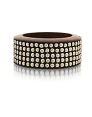 Nelly Accessories - Metal Wood Bangle