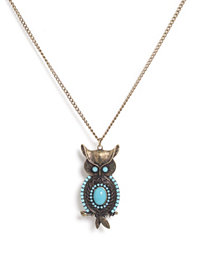 Nelly Accessories - Owl Necklace