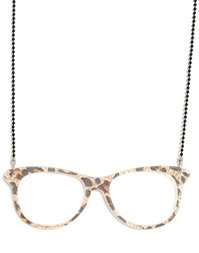 Nelly Accessories - Glasses Necklace