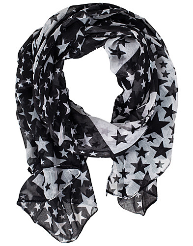 ACCESSOARER ÖVRIGT - NLY ACCESSORIES / STAR SCARF - NELLY.COM