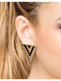 Smycken, Triangle Earrings, NLY Accessories - NELLY.COM