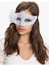 NLY Accessories Feather Mask
