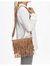NLY Accessories Fringe Clutch