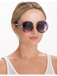 NLY Accessories Round Flower Sunglasses
