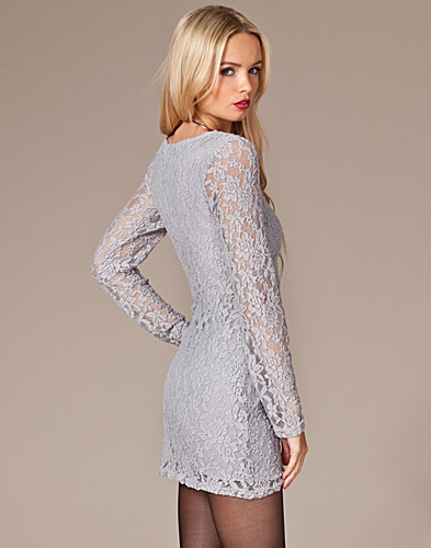 PARTY DRESSES - JEANE BLUSH / ABRIL LACE DRESS - NELLY.COM