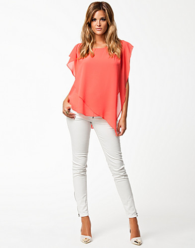 TOPPAR - JEANE BLUSH / ELISE TOP - NELLY.COM