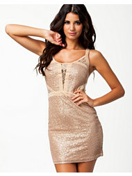 Jeane Blush Katy Sequin Dress