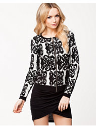 Jeane Blush Holly Knitted Jacket