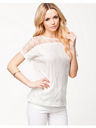 Jeane Blush Maia Lace Top