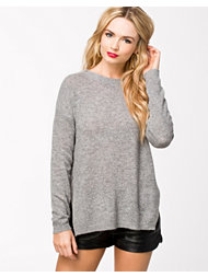 Jeane Blush Open Side Sweater