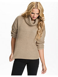 Jeane Blush Turtleneck Sweater
