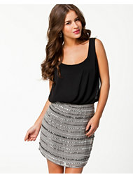 Lipsy 2 in 1 Beaded Skirt