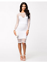 Lipsy Kardashian Net Mesh Dress