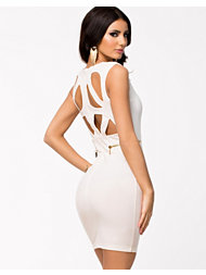 Lipsy Kardashin Bold Cut Out Back Dress