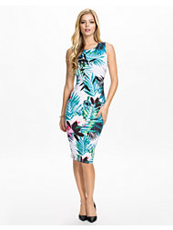 Lipsy Hibiscus Jungle Dress