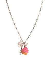 Mi Lajki - Pink Icing Necklace
