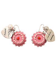 Mi Lajki - Strawberry Cake Earring