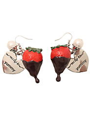 Mi Lajki - Choco Strawberry Earring