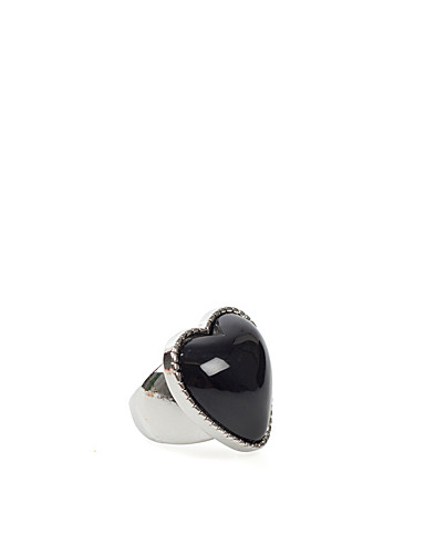 JEWELLERY - MI LAJKI / BIG HEART RING - NELLY.COM
