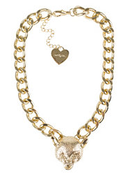 Mi Lajki Leopard Chain Necklace
