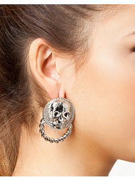 Mi Lajki Skull Earrings