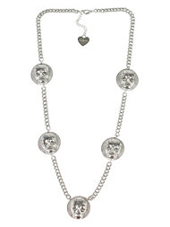 Mi Lajki Skull SmallChain Necklace