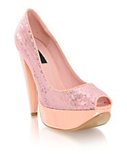 Nelly  Shoes - Marble Sparkling Pumps