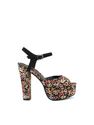 NLY Shoes Printed Platform Sandal