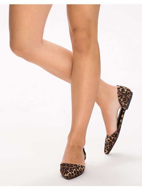 Pointy Ballerina - Nly Shoes - Leopard